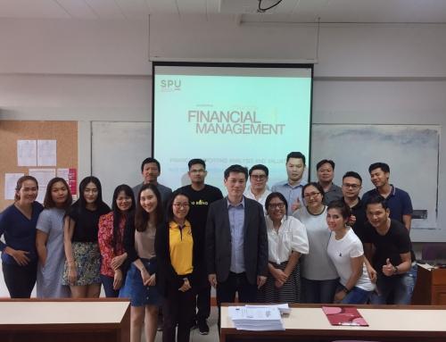 หลักสูตรบริหารธุรกิจมหาบัณฑิต (M.B.A.) เรียนกับตัวจริงประสบการณ์จริง กับ ดร.สุรเดช จองวรรณศิริ ตำแหน่ง ผู้อำนวยการ TRIS Academy of Management, ทริส คอร์ปอเรชั่น บริษัทที่ดำเนินธุรกิจด้านการบริการการประเมินผลการดำเนินการ (Performance Evaluation)